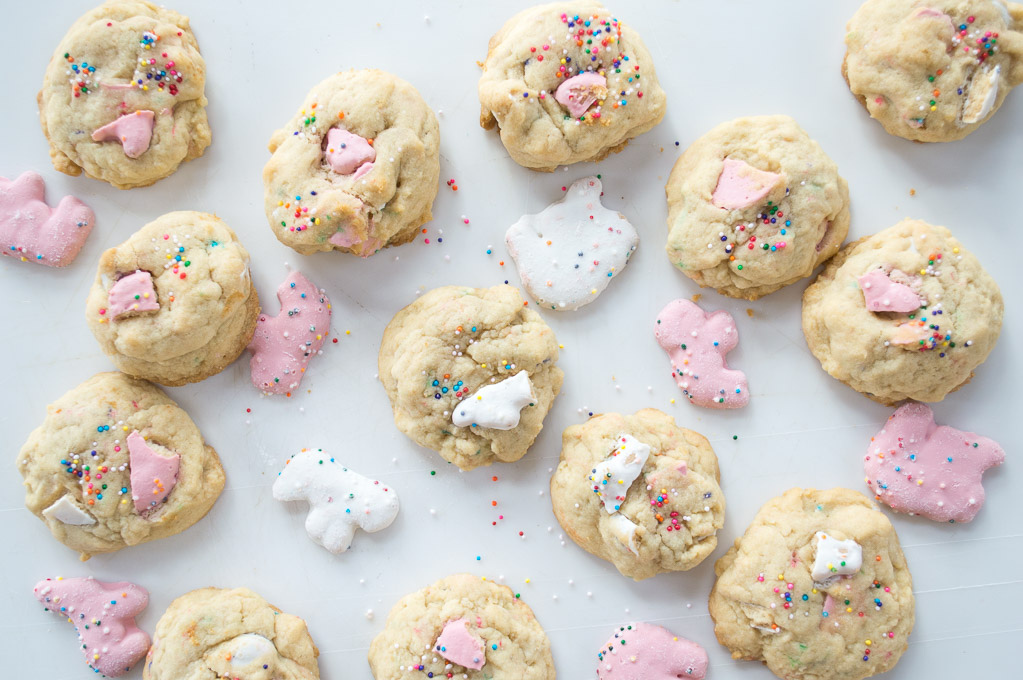 animal sugar cookies with animal cookies and sprinkles