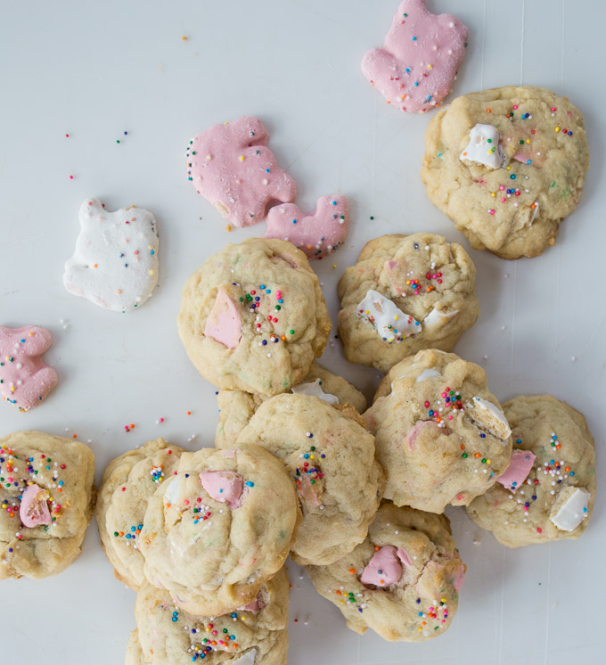 cookies with animal cookies and sprinkles