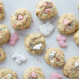 cookies with frosted animal cookies