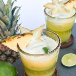 pineapple, starfruit, tequila tonic with tropical fruit