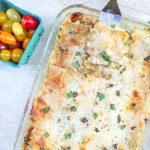 sliced farmer's market lasagna