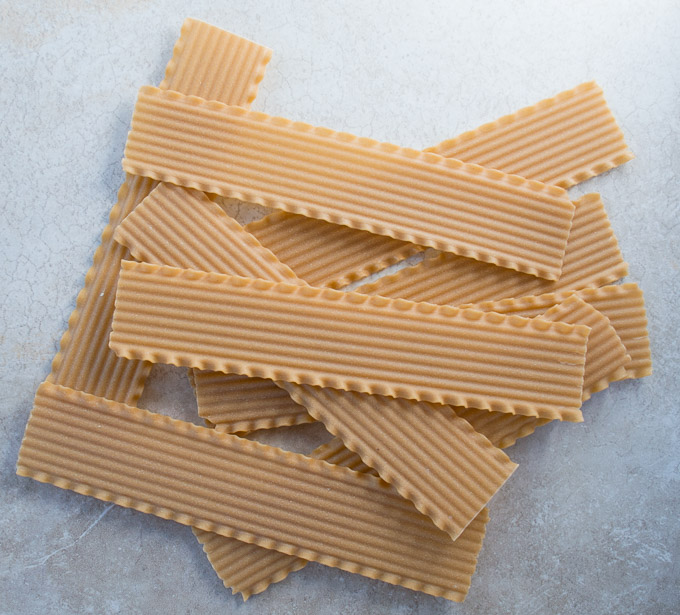 dried lasagna noodles