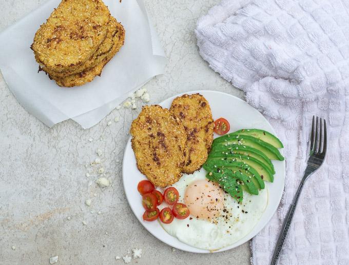 cauliflower hash brown breakfasta