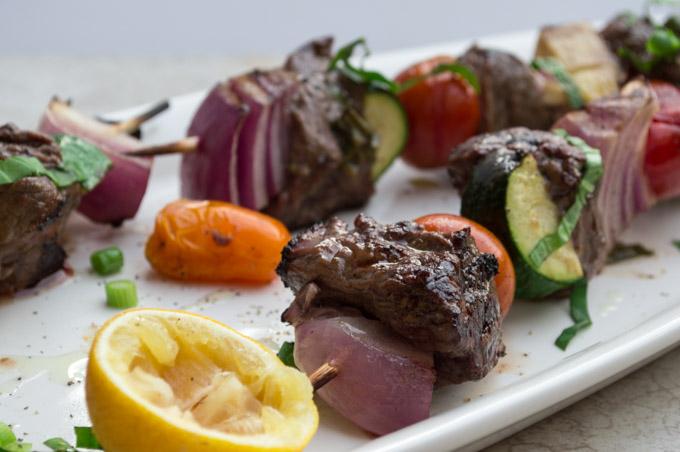marinaded kebabs