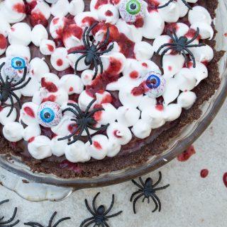 golbin tart with spiders