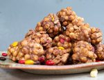 pile of kix balls with peanut butter and candy