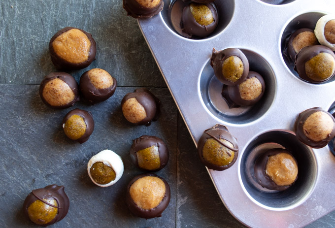 variety of buckeyes