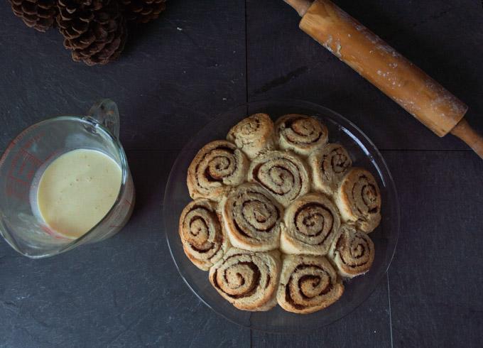 cooked cinnamon rolls