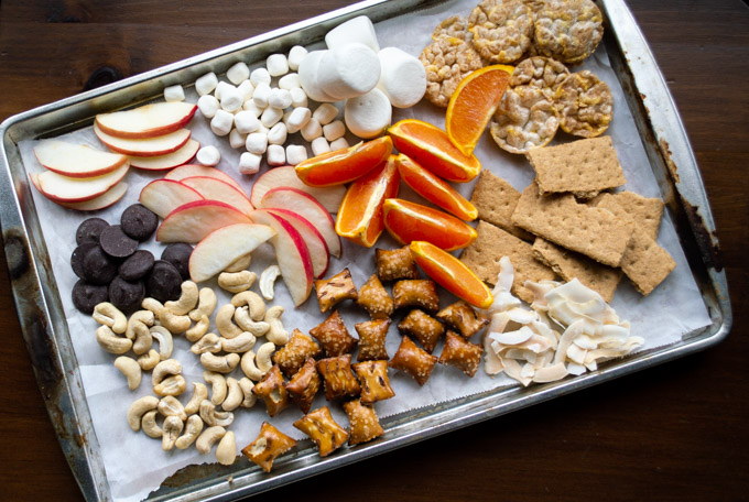 fruit and dessert sweets for board