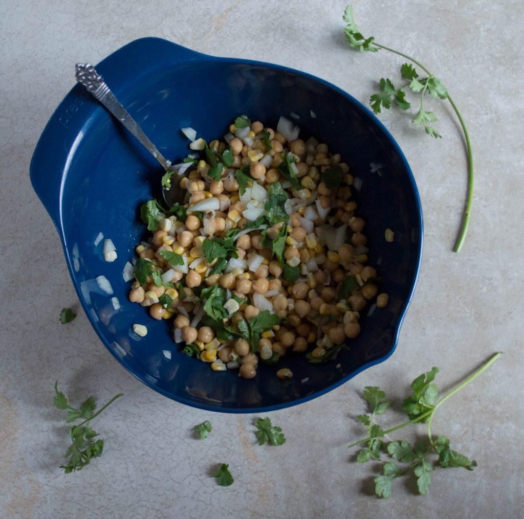 bowl of salsa for enchiladas