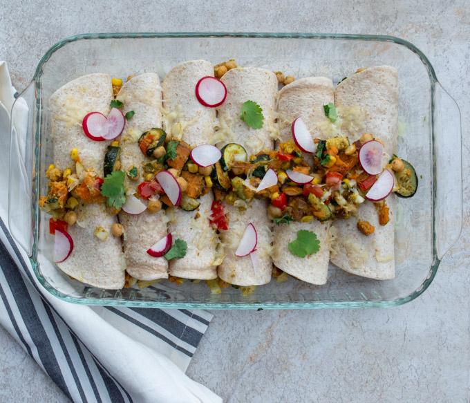 cooked enchiladas