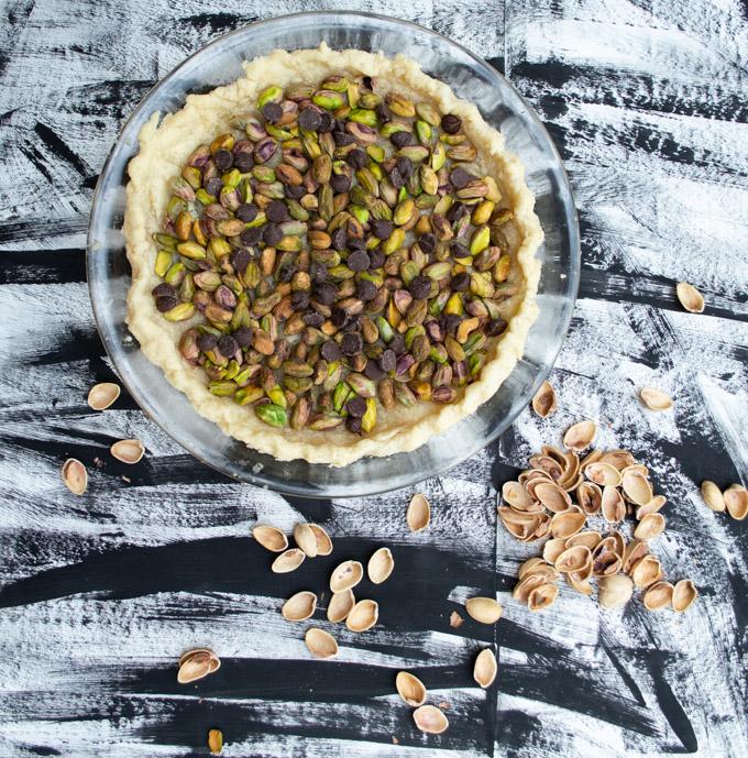unbaked pistachio pie